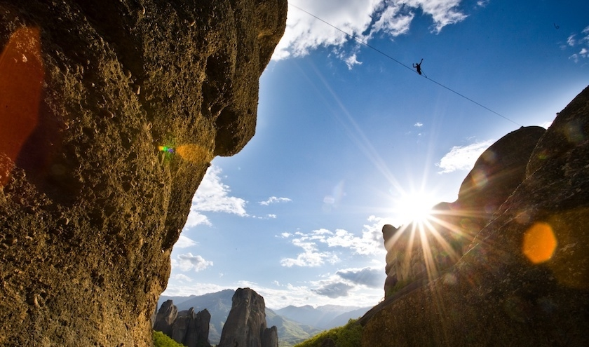 One Inch Dreams' Highline in Meteora
