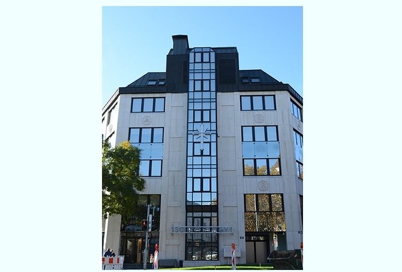 Das neue Scientology-Gebäude.