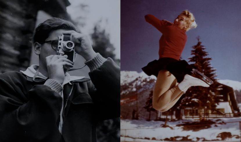 Zwei Fotografien aus dem Film.