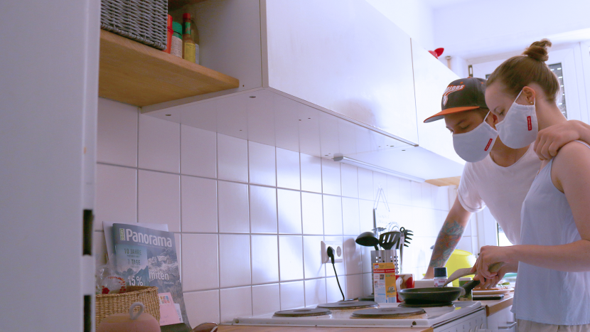 Wie wäre es denn mit einem Online-Koch-Date, sobald das wieder möglich ist? (Symbolbild)