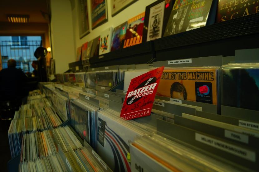 Plattenliebhaber allen Alters werden bei Ratzer Records fündig.