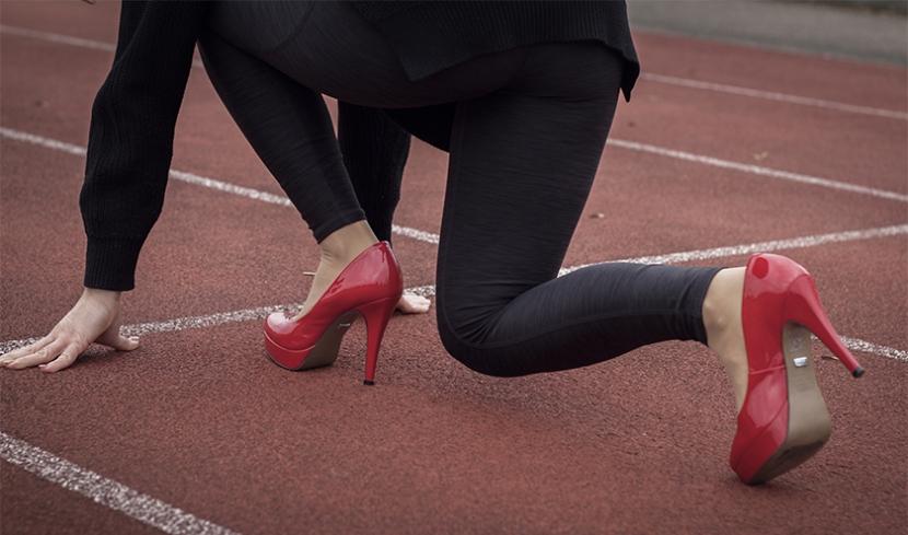 High Heels Run