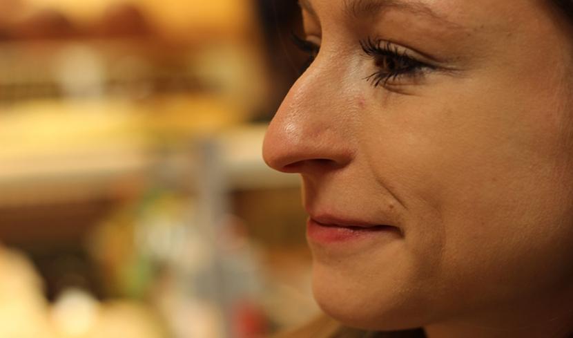 Die Nase nimmt Geruchsmoleküle auf, die unsere Stimmung beeinflussen.