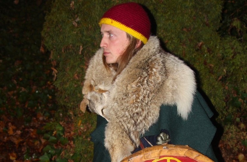Dieses Bild zeigt Kai in seiner Rolle als Fjörnir
