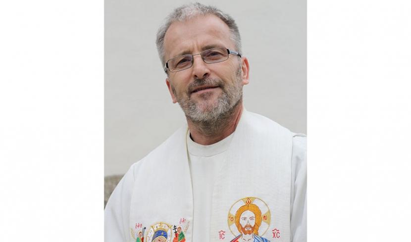 Porträt-Bild Pfarrer Meinrad Huber