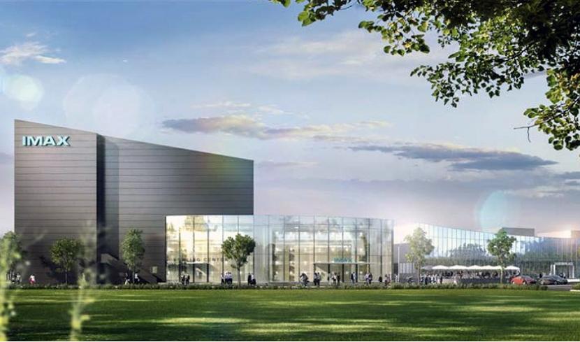 Das IMAX in Leonberg baut die größte Kinoleinwand der Welt.
