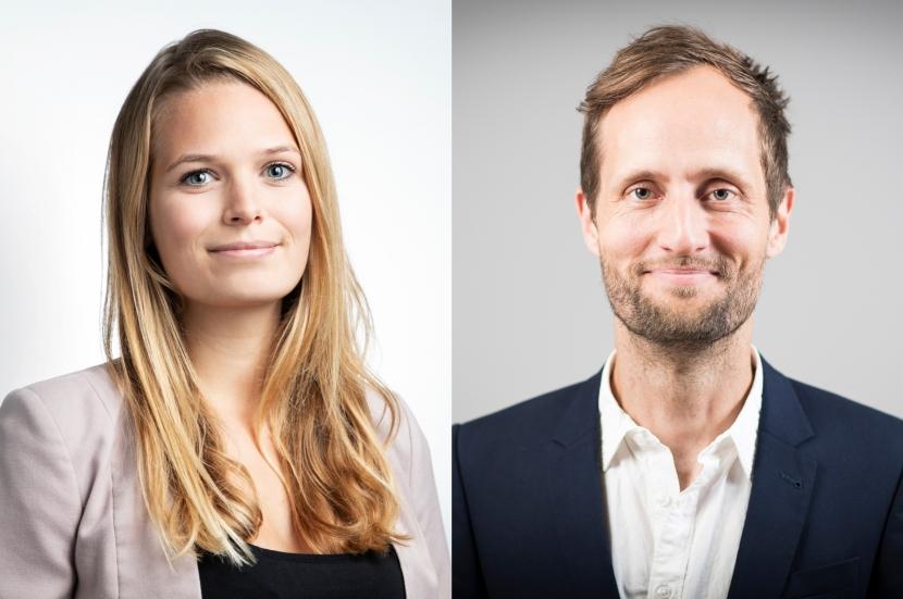 Alina Langenhorst (PETA) und Dr. Arnulf Köhncke (WWF)