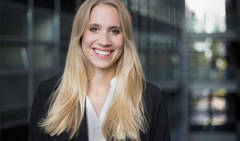 Referentin bei der Landesanstalt für Medien NRW, Nadine Eikenbusch.