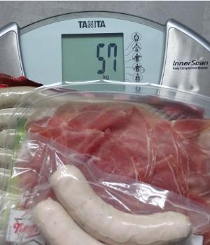 57 Kilo sind zu viel!