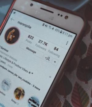 Instagram als Hoffnungsort