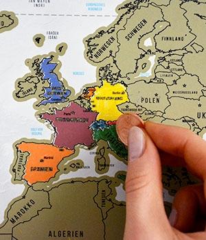 10 Wege durch Europa