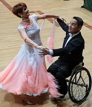 Tanzen ist wie Träumen auf Rollen