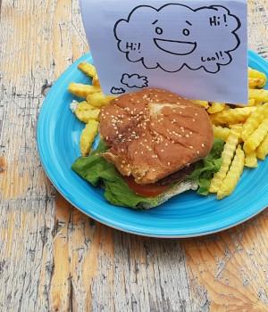 Ein Burger der Normalität