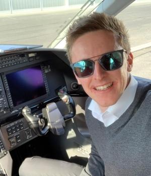 Mit 22 Jahren schon im Cockpit