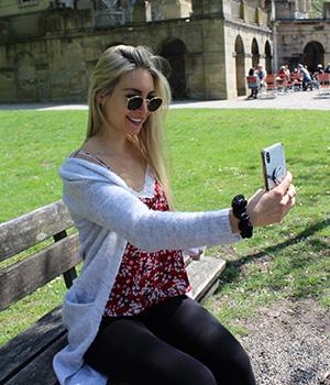 Virtuelle Bindung zu Followern