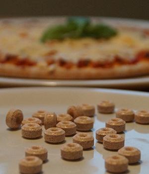 Pizza für die Hosentasche