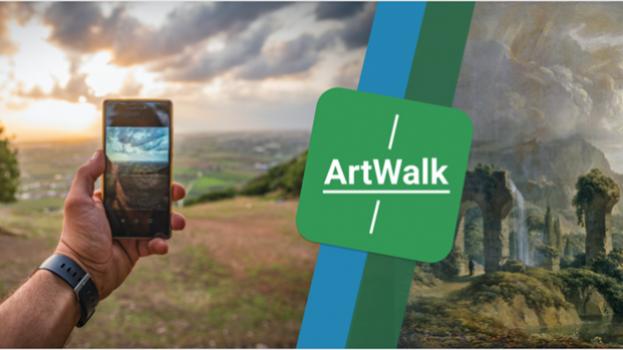 "Die ""ArtWalk"" App – ein neues Kunsterlebnis"