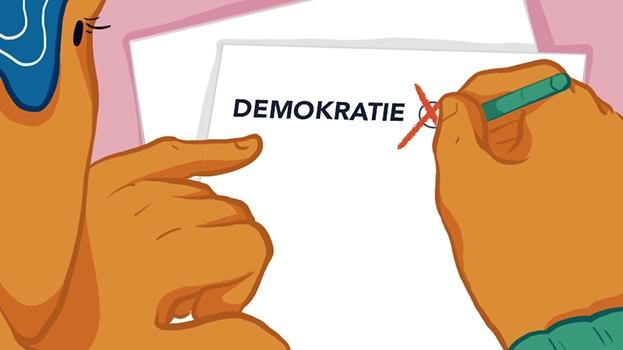 Deutsche Demokratie – Aber nur mit deutschem Pass