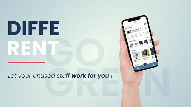 """""""DiffeRent"""" – die Renting-App für selten genutzte Dinge"""