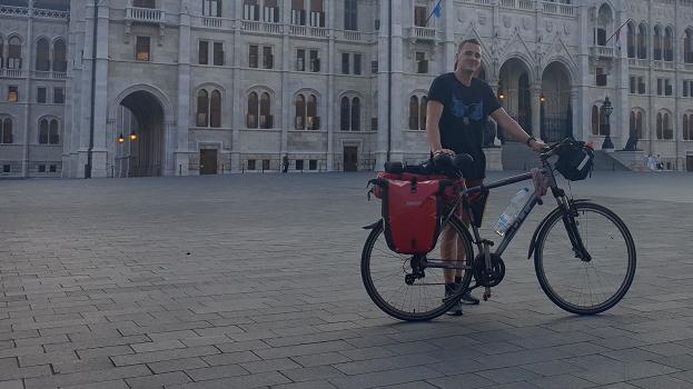 Mit dem Fahrrad durch Europa