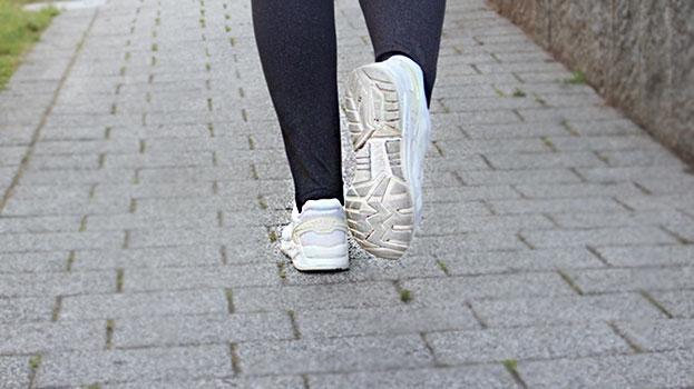 Getrennt und doch gemeinsam laufen